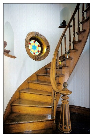 Mellette House Stairs